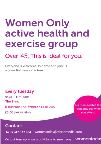 Women Today Exercise & Health Group