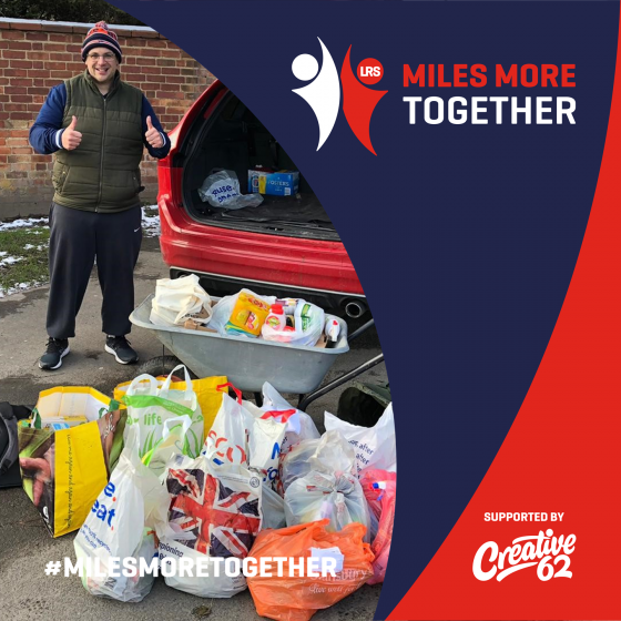 More Miles Together Raises over £2400 for FareShare Midlands