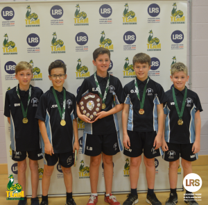 U-13 Boys Kick-Start the Second Day of Team Leicestershire Table Tennis Finals