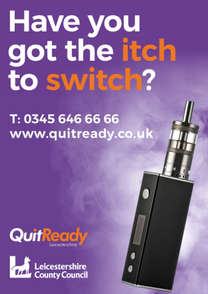 QuitReady ecig poster