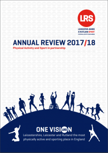 Catch up on the key headlines: LRS Annual Review 2017/18