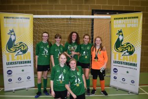 Lutterworth, Brookvale Groby  & Brockington secure wins in action-packed  week of Futsal Finals!