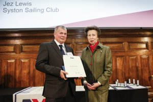 HRH The Princess Royal Honours Leicester Sailing Volunteers