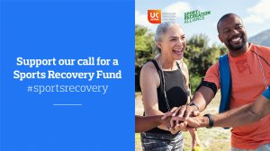 Supporting the call for a Sports Recovery Fund