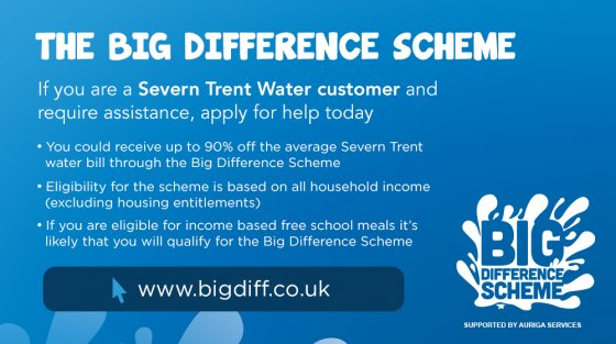 Severn Trent 'Trust The Big Difference Scheme'